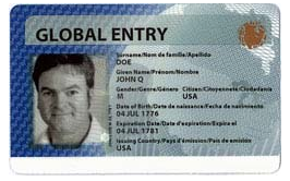 global entry card